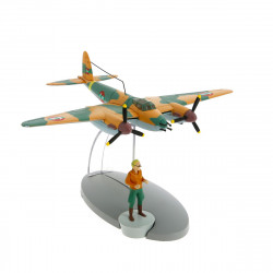 AVIONS TINTIN - AVION FORCE AERIENNE COKE EN STOCK 10