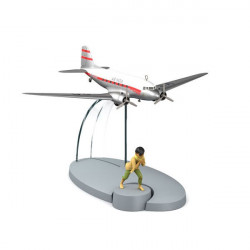 AVIONS TINTIN - VOL AIR INDIA TINTIN TIBET 12