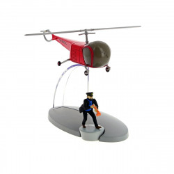 AVIONS TINTIN - HELICOPTERE AGENTS BORDURE 36