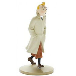 FIGURINE RESINE (COLLECTION 12CM) - TINTIN TRENCH