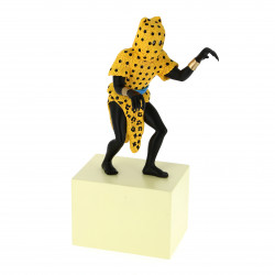 RESINE - MUSEE IMAGINAIRE - HOMME LEOPARD