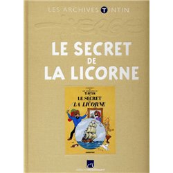 TINTIN (LES ARCHIVES - ATLAS 2010) - 5 - LE SECRET DE LA LICORNE
