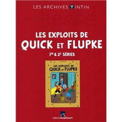 TINTIN (LES ARCHIVES - ATLAS 2010) - 30 - LES EXPLOITS DE QUICK ET FLUPKE - 1RE & 2E SÉRIES
