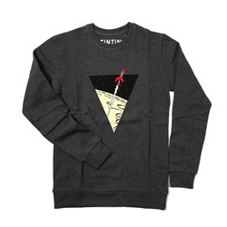 SWEAT TRIANGLE FUSEE GRIS FONCE 094