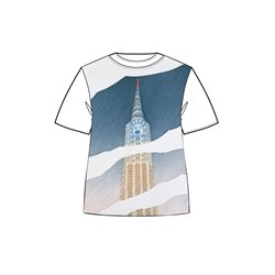 T-SHIRT FOLON NEW-YORK 061