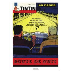 AFFICHE MICHEL VAILLANT & LE JOURNAL TINTIN 1960 N°13