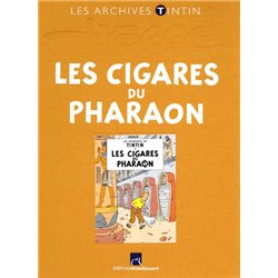 LIVRE ARCHIVE ATLAS TINTIN CIGARE