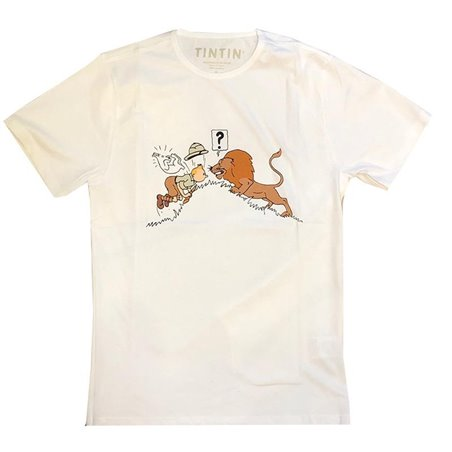 T-SHIRT - TINTIN IN THE CONGO 001