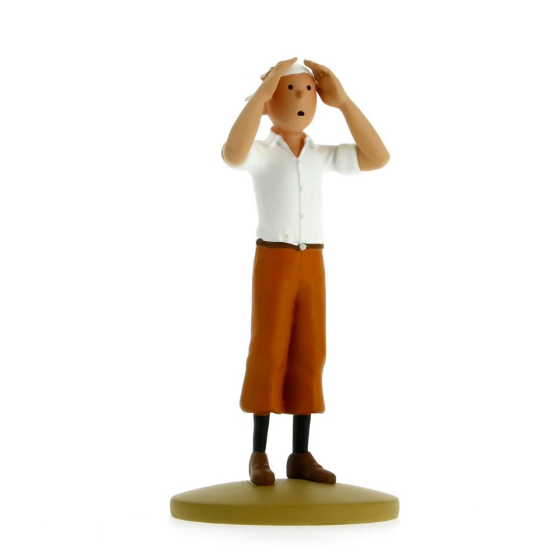 FIGURINE RESINE (COLLECTION 12CM) - TINTIN DESERT