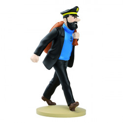 FIGURINE RESINE (COLLECTION 12CM) - HADDOCK EN ROUTE