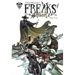 COFFRET FREAKS' SQUEELE, TOME 1. (TOMES 1 À 4)