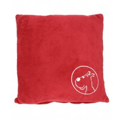COUSSIN TINTIN - 45x45cm - ROUGE HERMES