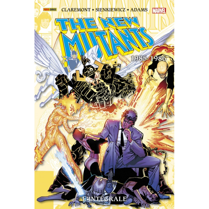 NEW MUTANTS (THE) (L'INTÉGRALE) - 4 - 1985-1986