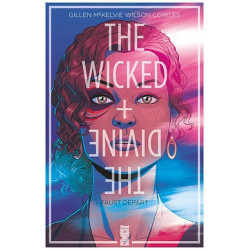 THE WICKED THE DIVINE - 1 - FAUST DEPART - VARIANTE DE COUVERTURE