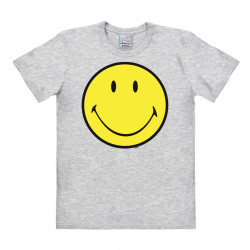 Smiley - Happy - Emoticon T-Shirt Homme - gris
