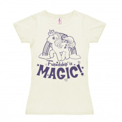 My Little Pony - Friendship is Magic T-Shirt Dame - blanc cassé
