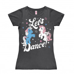 My Little Pony - Let's Dance T-Shirt Dame - gris foncé
