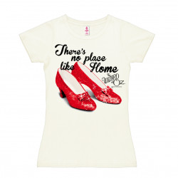 Le Magicien d'Oz - - There's No Place Like Home T-Shirt Dame - blanc cassé