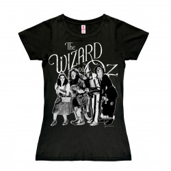Le Magicien d'Oz - Dorougehy & Friends T-Shirt Dame - noir