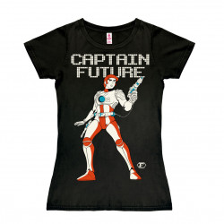 Science-Fiction - Héros - Casquette Future T-Shirt Dame - noir