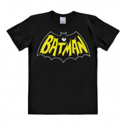 Batman T-Shirt - Batman Logo Shirt - Rethals T-Shirt - noir - DC Comics Shirt - FlelaSouris