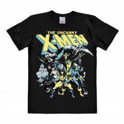 LOGOSHIRT - T-Shirt Homme X-Men - Marvel Comics - The Group - noir
