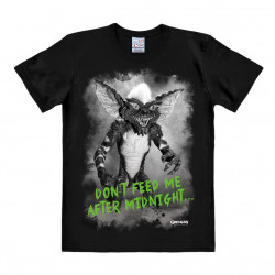 LOGOSHIRT - T-Shirt Homme Film - Gremlins - After Midnight - noir