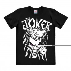T-Shirt The Joker - DC Comics Batman - Joker As de Pique - Rethals Shirt - noir