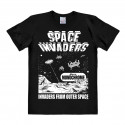 T-Shirt Space InVadors - From Outer Space - Rethals Shirt - noir