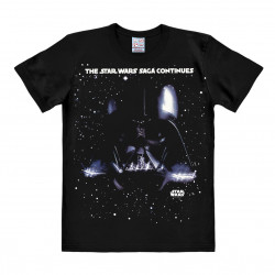 Star Wars - Darth Vador - The Saga Continues T-Shirt Homme - noir