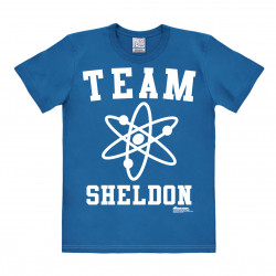 Big Bang Theory - Genie - Team SHéroon T-Shirt Homme - bleu