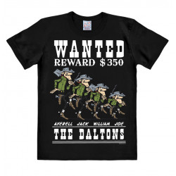 Lucky Luke - The Daltons - Wanted T-Shirt Homme - noir