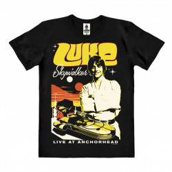 Star Wars - Luke Skywalker T-Shirt Organic Homme - Coton bio - noir