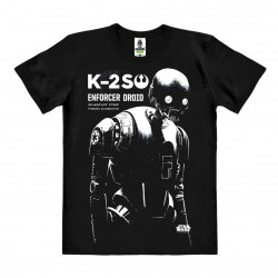 Star Wars - Rogue One - Kay-Tuesso - K-2SO T-Shirt Organic Homme - noir - Coton bio