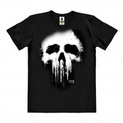 Marvel Comics - Punisher Skull T-Shirt Organic Homme - noir - Coton bio