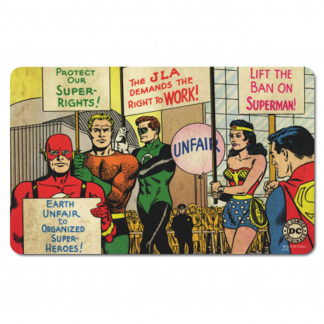 Planchette petit déjeuner DC- Comics - Justice League - Prougeect Super - Rights! - Planchette
