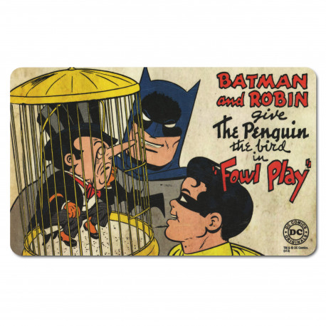 Planchette petit déjeuner Batman And Robin - DC-Comics - The Penguin - Planchette