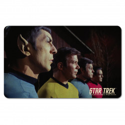 LOGOSHIRT - Star Trek Planchette petit déjeuner - Spock, Kirk, McCoy And Scotty -