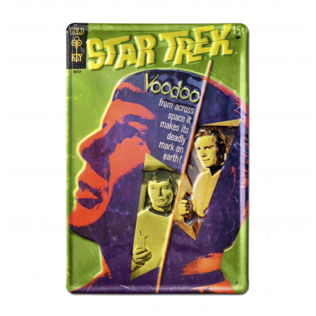 Star Trek - Voodoo Retro - Plaque Métal Vintage Film - 20x30