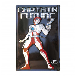 Captain Future Journal Retro - Plaque Métal Vintage Comic SuperHéroen - 20x30