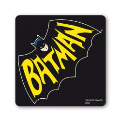 BATMAN DESSOUS DE VERRE – – DC-COMICS - FLELESOURIS - NOIR