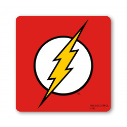 Flash Logo Dessous de Verre – – DC-Comics - rouge
