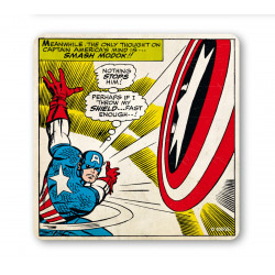 Dessous de Verre Captain America - Marvel Comics -Smash Modok!!