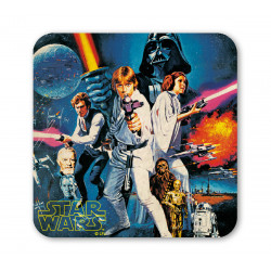 Star Wars Dessous de Verre - La Guerre des Etoiles - May The Force Be With You - Shoot