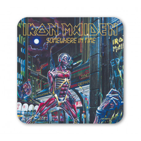 Iron Maiden - Somewhere In Time - Dessous de Verre