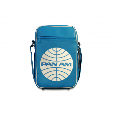 Sac Pan Am Logo - Pan American World Airways - Sac en bandoulière -  - SportSac - turquoise - Cuir Synthétique