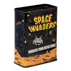 Tirelires SPACE INVADERS - noir