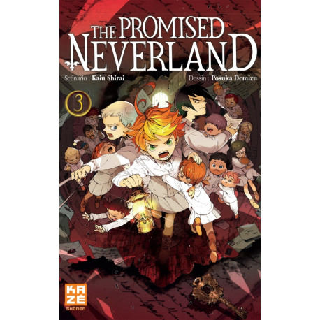 THE PROMISED NEVERLAND T03
