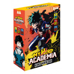 COFFRET MY HERO ACADEMIA - TOMES 1 À 3