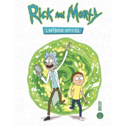 RICK AND MORTY, L'ARTBOOK OFFICIEL